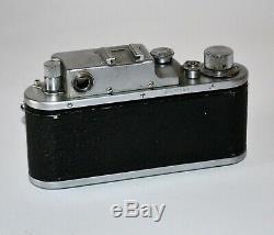 1954 RARE RUSSIAN USSR ZORKI 3 LEICA COPY CAMERA + JUPITER-8 lens, f2/50mm (2)