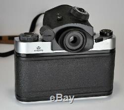 1987 Russian Ussr Kiev-60 Ttl Medium Format Camera + MC Volna-3 Lens (3)