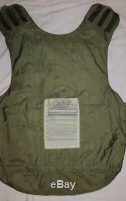 1989 6b3t-m-01 Soviet Russian Army Armor Vest Cover Afghanistan, Chechen, Coup