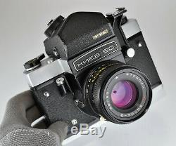 1990 Russian Ussr Kiev-60 Ttl Medium Format Camera + MC Volna-3 Lens (3)