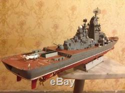 1/350 Soviet/Russian battle cruiser Kirov class complete model