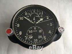AChS 1 (K) USSR Russian Military Air Force Cockpit Clock