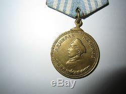 Authentic Russian Soviet Order medal Nahimov (Nakhimov). Antique. 100%. Bronze