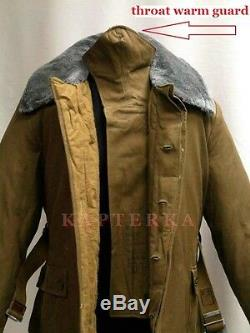 Authentic Soviet Russian Red Army Winter Uniform Jacket OXP, padded, very warm
