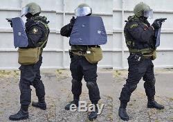 Bzt-75 Titanium Armor Shield (soviet Russian Special Forces MVD Omon Mia Sobr)