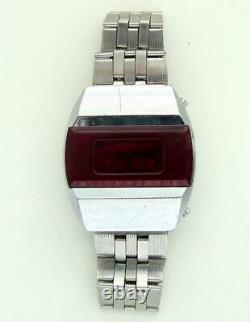 CCCP USSR Soviet Russian First Digital Red LED Watch Pulsar Elektronika 1