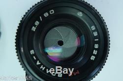Camera Kiev 88 #8302052, 6x6cm120 film, MC Volna-3 Russian USSR, CASE