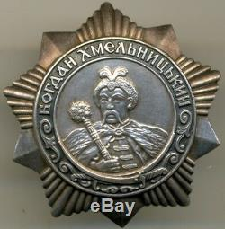 Complete Documented Soviet Russian Order Group with Order of Khmelnitsky 3 class
