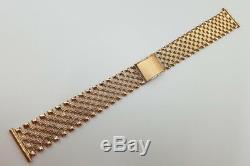 Cwb003 Russian rose Soviet USSR 14k gold men's watch bracelet Unique! Low price