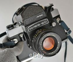EXC! 1992 RUSSIAN USSR KIEV-60 MEDIUM FORMAT CAMERA + MC VOLNA-3 f2.8/80 (3)