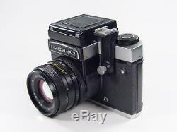 Exc++. KIEV 60 Medium USSR Russian camera + MC Volna 3 s/n 8600832. Retail box