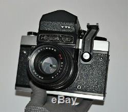 Exc! Never Used! 1991 Russian Ussr Kiev-60 Medium Format Camera, Full Set (2)