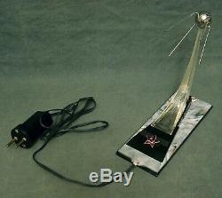 Exclusive Vintage Soviet Russian Space Sputnik Rocket Desktop Lamp USSR RARE