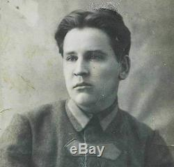 Extremely Rare WW1 SOVIET RUSSIAN CAVALRY TUNIC, 1920-1925, insignia + ID +PHOTO
