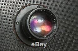FK FKD 13x18 Russian USSR Large Format Wooden Camera Industar 51 Lens