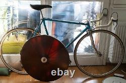 Fluidisk USSR Russian Disc Wheel Track / Pista Road TT Campagnolo Carbon Vintage