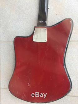 Formanta Vintage Electric Guitar Soviet Russian Musical Instrument From USSR