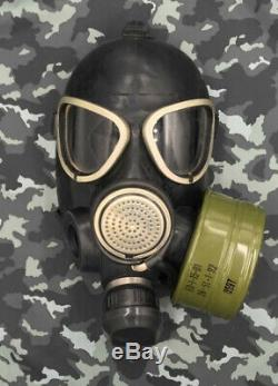 GAS MASK PMK-2 (GP-7) Soviet Russian Army Chernobyl Military Protect Game NEW