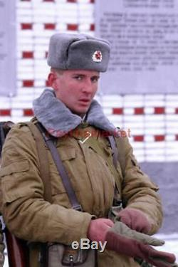 Genuine Military Jacket Russian Army Soviet Afghan form Winter Suit USSR Bushlat