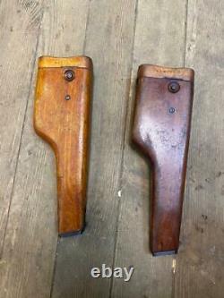 Holster Stechkin Pistol APS WOODEN +Belt ORIGINAL RUSSIAN USSR