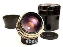 JUPITER-9 2/85 f/2 85mm Bokeh Portrait Soviet Russian USSR lens M42 Sonnar