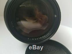 JUPITER-9 85mm f/2 CZ Sonnar Copy Great portrait lens Rare USSR Russian Zenit