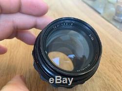 JUPITER-9 85mm f/2 Russian USSR sonnar f2 lens M42 dslr Canon Pentax Sony Nex