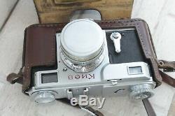 KIEV 2A Rangefinder 35mm Russian camera Lens JUPITER-8 50mm f/2 CONTAX USSR