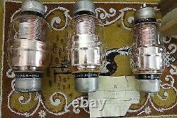 KP1-4 RUSSIAN SOVIET VACUUM VARIABLE CAPACITOR 10-500pF 10 kV 50A NOS 500pF