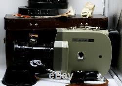 KRASNOGORSK 2 Russian Movie 16mm camera 1972 USSR with lens Meteor 5-1 KMZ SET