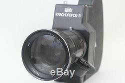 KRASNOGORSK 3 Russian USSR 16mm Movie Cine Camera Meteor 5-1 Lens