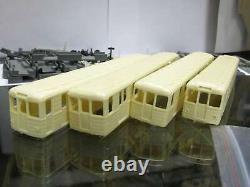Kit for assembly 4 pcs Soviet/Russian Underground Subway Wagons EM type HO
