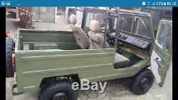 LUAZ 969 ex-Soviet Army 4x4 Battlefield Jeep 1.2 Ltr Russian classic military