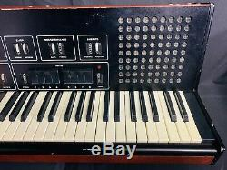 MANUAL RARE Soviet VINTAGE ANALOG SYNTHESIZER and DRUM MACHINE USSR Russian