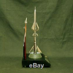 Metal Rocket Soviet Russian Military Space Fighter Aircraft Vintage USSR RARE