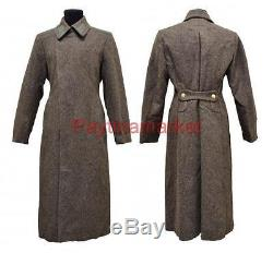 Military Jacket Russian Soldier's overcoat Winter Soviet Coat Army USSR Shinel