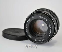 NEAR EXCELLENT! RUSSIAN USSR MC HELIOS-77M-4 lens f1.8/50, M42 mount (5)