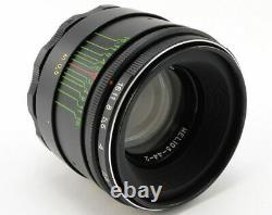 NEW HELIOS 44-2 58mm f/2 Russian Soviet USSR Lens M42 MINT Canon EOS Sony A 9