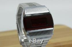 NEW Vintage Pulsar Elektronika 1 Early Russian USSR Digital Red LED Wrist Watch