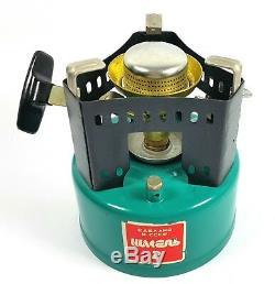 Nos Original Vintage Camping Fuel Stove + 2 Bowl Shmel-2 Russian Soviet Kerosene
