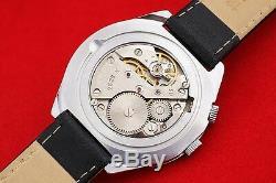 OLD stock wrist watch Perpetual calendar Rocket 2628. H Vintage Russian USSR