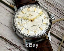 ORIGINAL Pilot Russian USSR Wrist Watch Men's Soviet ERA Service Mechanical Rare