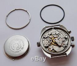 Okean Ocean Vintage USSR Russian Soviet watch Poljot Chronograph 3133 3297