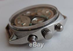 Okean Ocean Vintage USSR Russian Soviet watch Poljot Chronograph 3133 4867