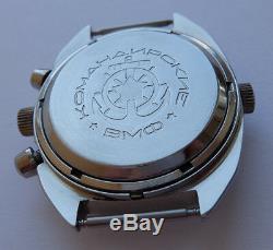 Okean Ocean Vintage USSR Russian Soviet watch Poljot Chronograph 3133 7514