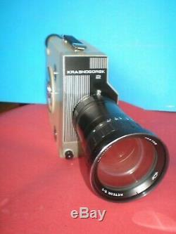 Old Russian/Soviet Union/16 mm movie camera Krasnogorsk-2 by KMZ, Good condition