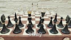Olympic Soviet Chess set Russian Vintage USSR plastic antique red