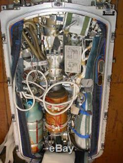 Orig. Russian Soviet Cosmonaut Space Suit ORLAN EVA ISS Knapsack Entrance door