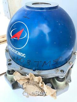 Original Russian Gyroscope case Spaceship SOYUZ TM-30 Soviet Space Program