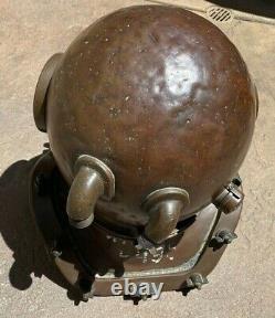Original Russian Soviet 1953 Diving Helmet